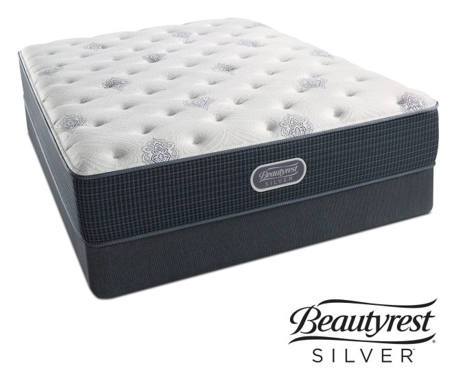 White River Luxury Firm Queen Mattress And Foundation Set