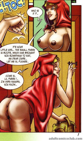 Little Red Riding Hood In High Boots Came To A Masked Dude To Have An Awesome Bdsm Fucking Cartoontube Xxx