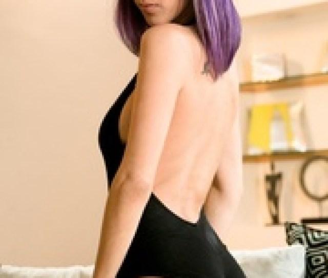 Purple Hair Babe Sheds  Years Ago  Pics Xxxonxxx