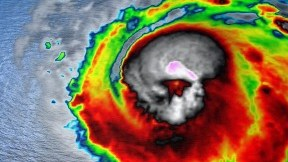 HD Decor Images » Cancun  Quintana Roo  Mexico   Current Weather Forecasts  Live Radar     EXTREME     Hurricane Michael s Satellite Image Shows A Skull Like Shape In  Center