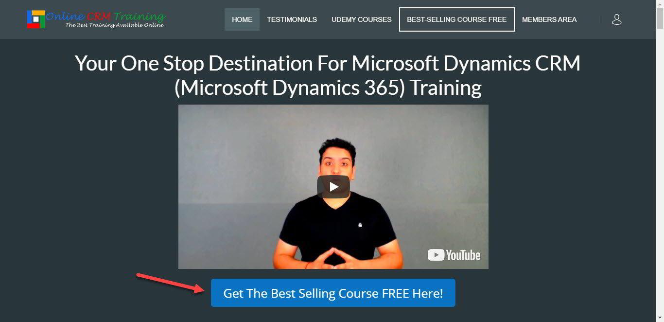 Free Microsoft Dynamics 365 Online Training Best Selling