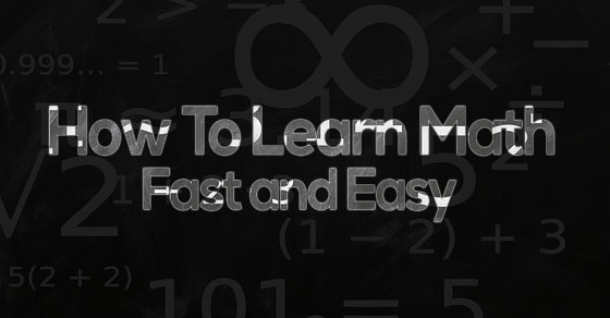 How to Learn Math Fast and Easy Tips and Tricks 2