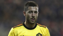 Belgium reaction pleases Hazard
