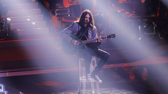 """Noah Sam Honegger at the """"The Voice of Germany""""-Sing-Offs"""