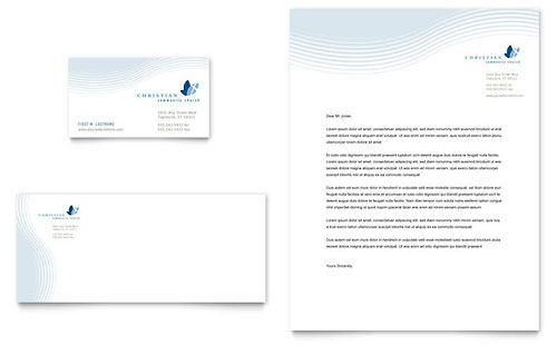 Religious Amp Organizations Letterheads Templates Amp Designs