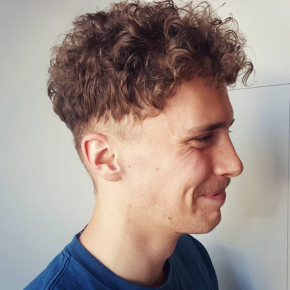 30 Best Mens Hairstyles For Curly Hair Trending In 2019