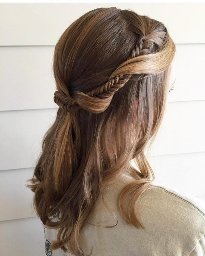 21 super easy updos anyone can do (trending in 2019)