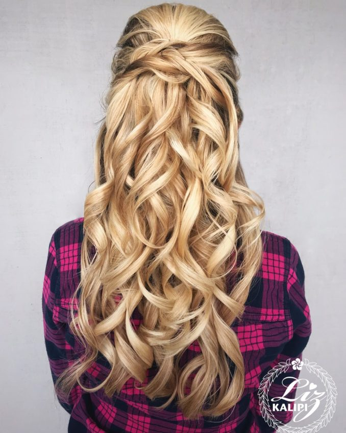 Image Result For Prom Hairstyle Long Hair