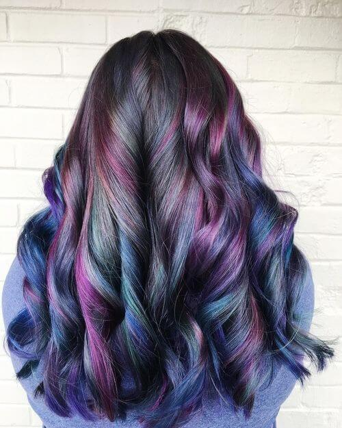 Image Result For Black Hair Color Styles
