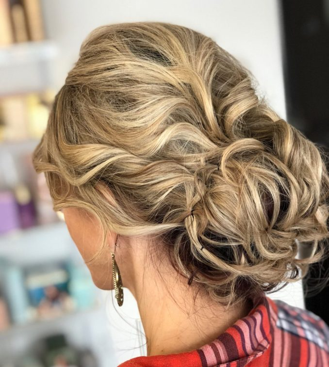 18 sexiest messy updos you'll see in 2019