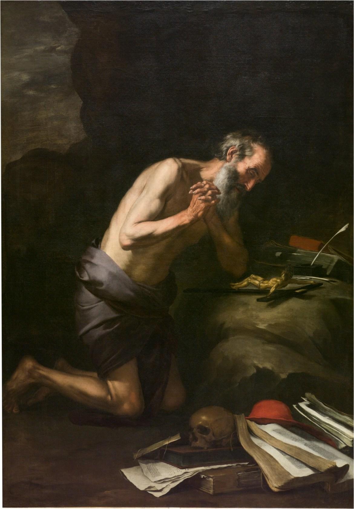 """San Jerónimo penitente"". Murillo. Museo Nacional Del Prado. Madrid"