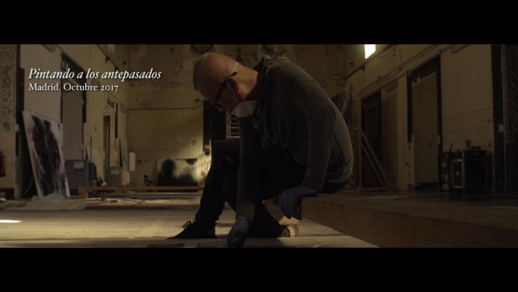 """Fotograma del documental """"El espíritu de la pintura""""  © Miss Wasabi Films / Shot of the documentary The Spirit of Painting © Miss Wasabi Films"""