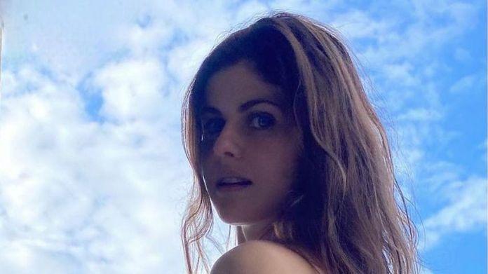 Alexandra Daddario in October 2020
