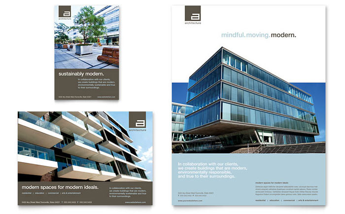 Architect Flyer & Ads Design