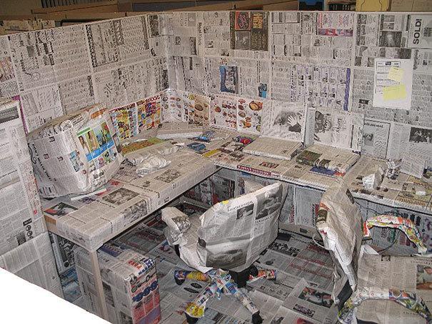 Atgādiniet šefam, ka vēlams izlasīt jaunākos rīta laikrakstus.