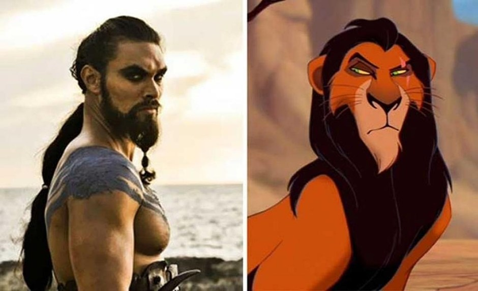 Khal Drogo (Game of Thrones) - Scar (The Lion King)