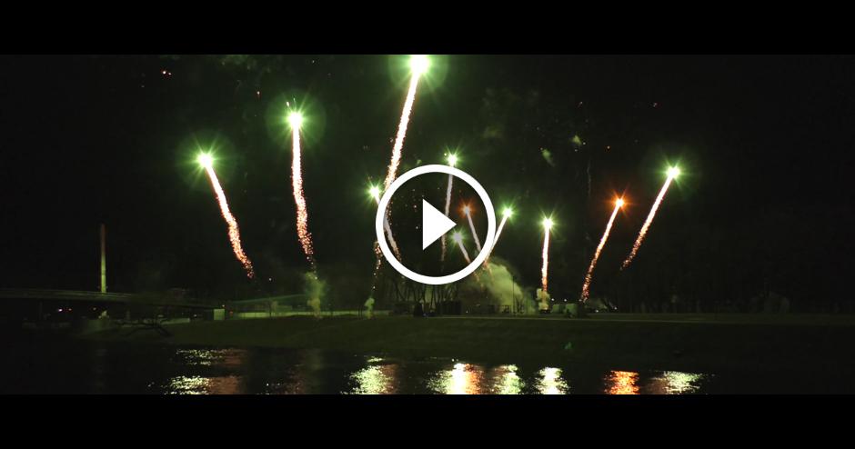 2017. gada 18. novembra salūts Jelgavā