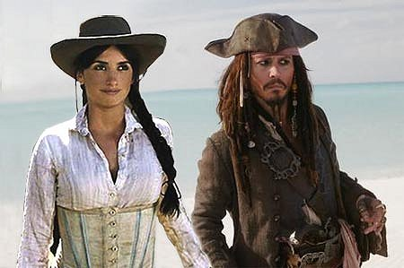 Penelope Cruz As Johnny Depp?s Love Interest In Pirates of the Caribbean: On