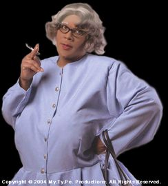When it comes to teaching manners, Im No Emily Post. I am more like Madea!