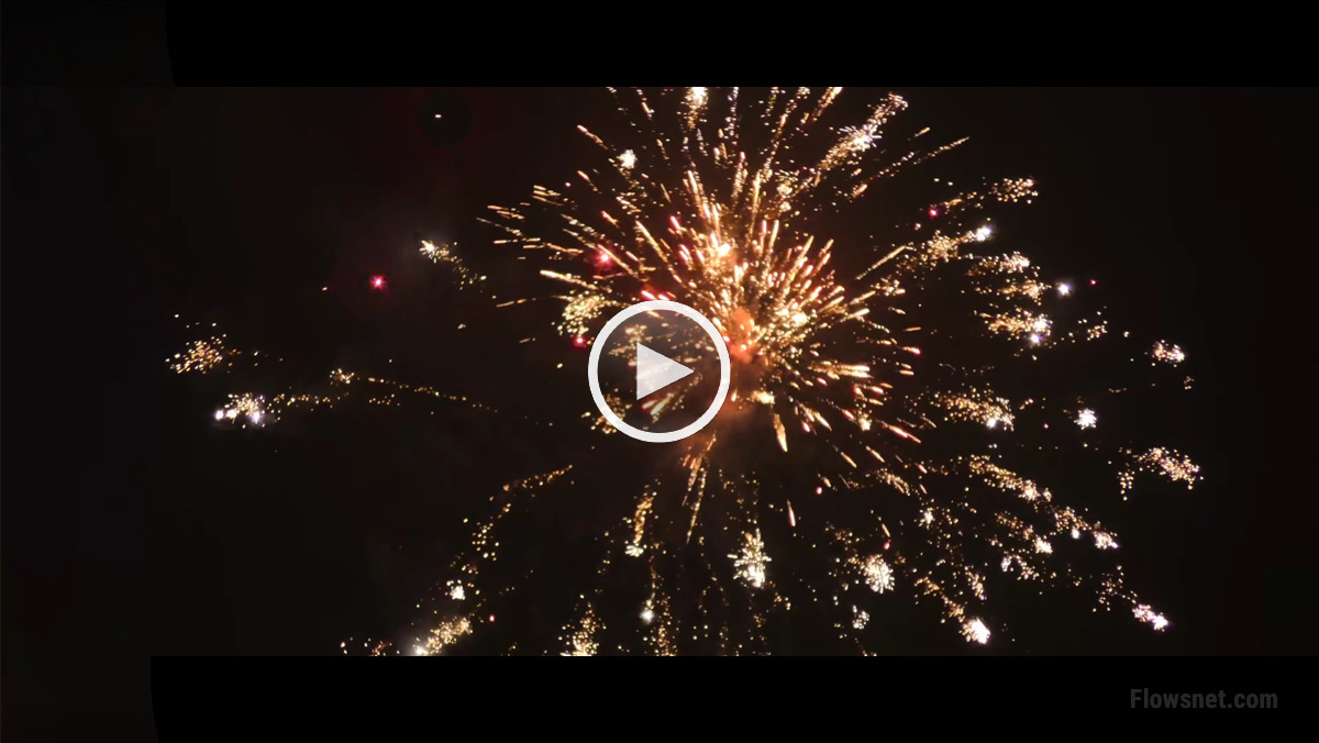 Vecgada vakara/Jaungada uguņošana/salūts Jelgavā 01.01.2018