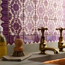 purple tiles