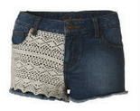 Primark shorts lace look