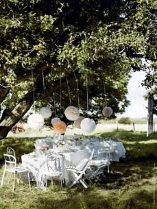 Garden pom poms