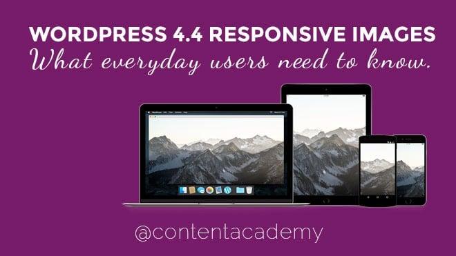 WordPress responsive images