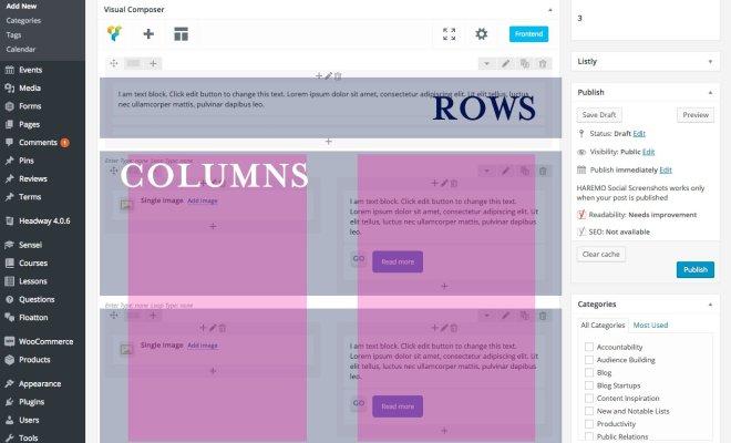 column-rows