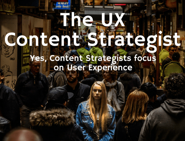 Is UX Content Strategist a Real Job Title?