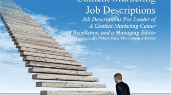 Content Marketing Job Descriptions