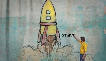 Where Do You Start? Robert Rose, The Content Advisory, rocket, man, begin, start