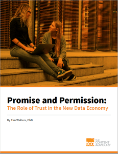 Our report on trust based marketing as a Content Marketing trends