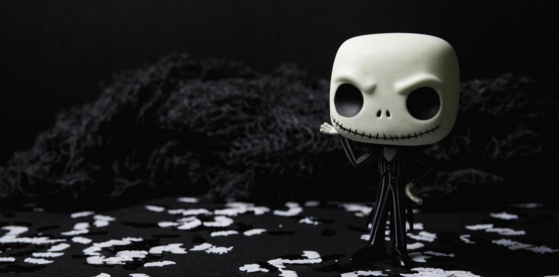 Creepy character