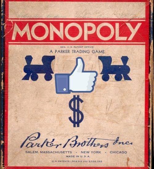 Facebook Monopoly Tile