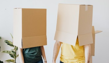 Boxes on heads