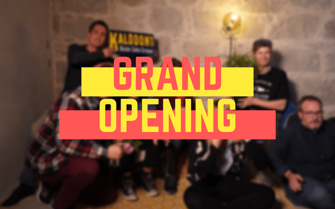 Grand Opening vom 1. April 2019