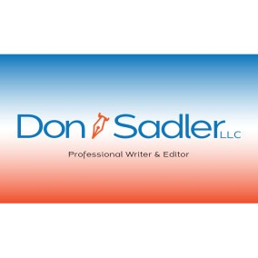 Don Sadler Writer logo