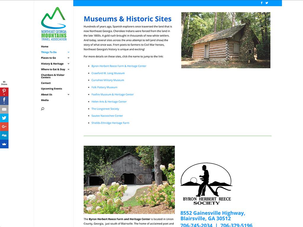 NEGMTA website sample