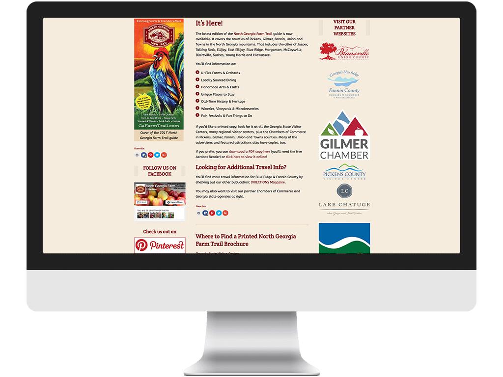 North Georgia Farm Trail Website