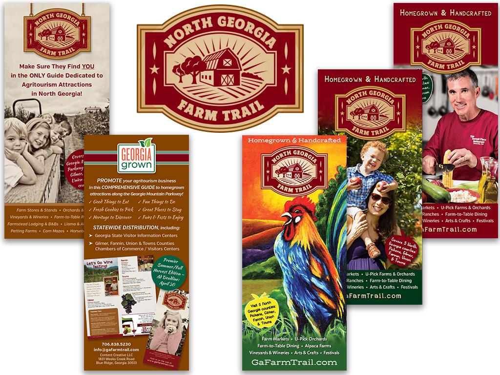 North Georgia Farm Trail Marketing Materials