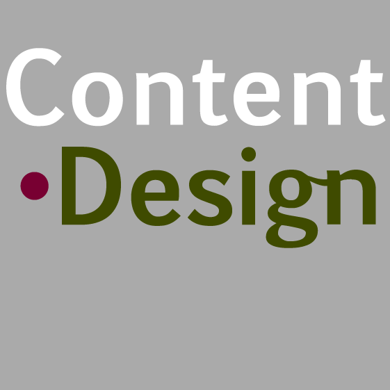 Content Design logo lt grey 561 square