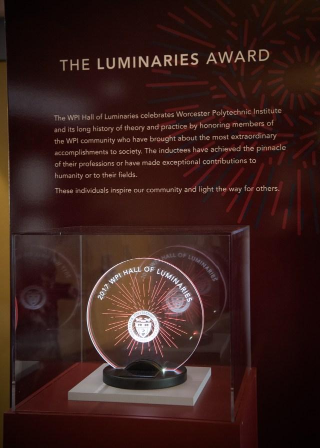 Hall of Luminaries award