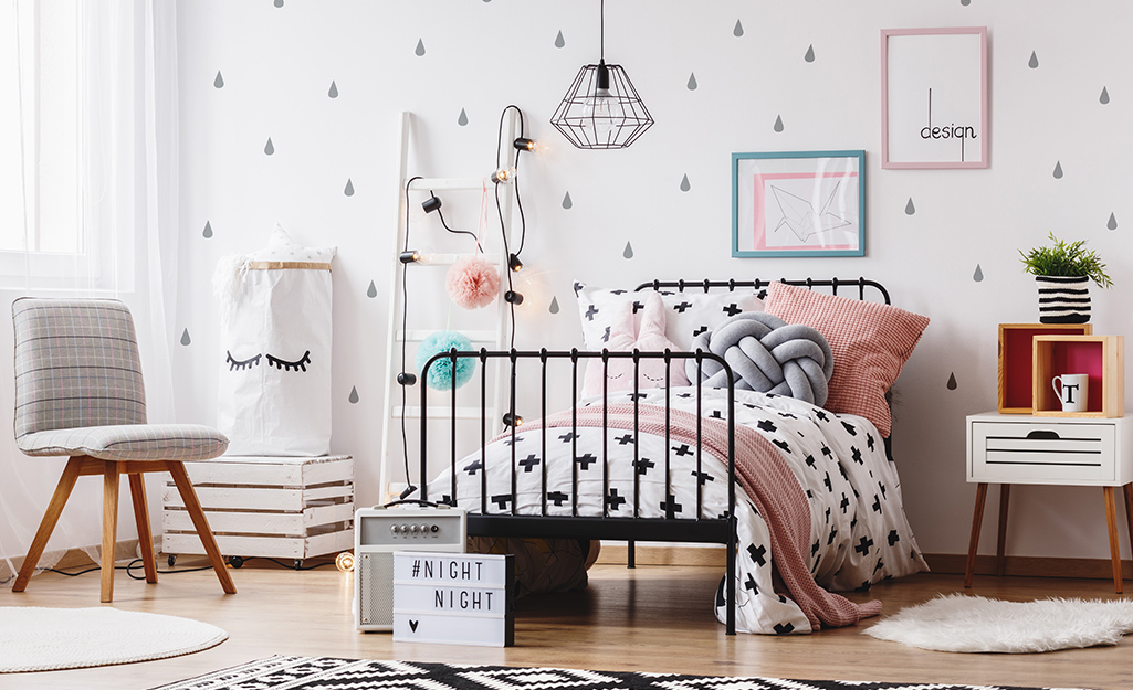 girl bedroom ideas the home depot
