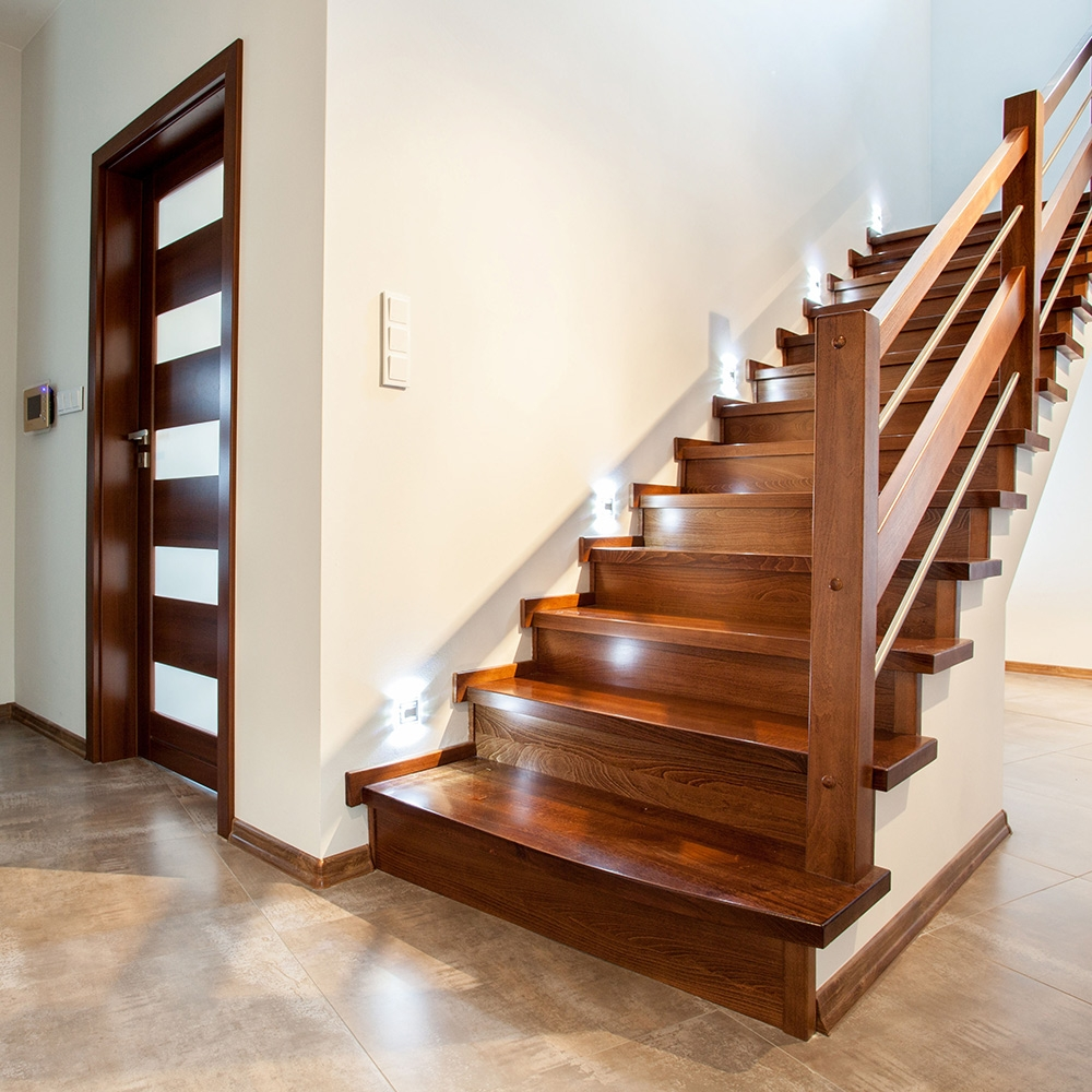 How To Build Stairs The Home Depot | Laying Hardwood On Stairs | Cost | Nosing | Combined Wood | Oak | Wood Stair