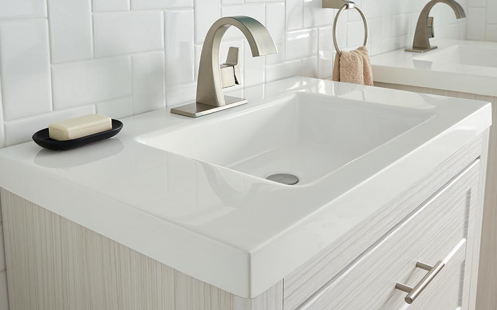 quartz vanity countertops bathroom