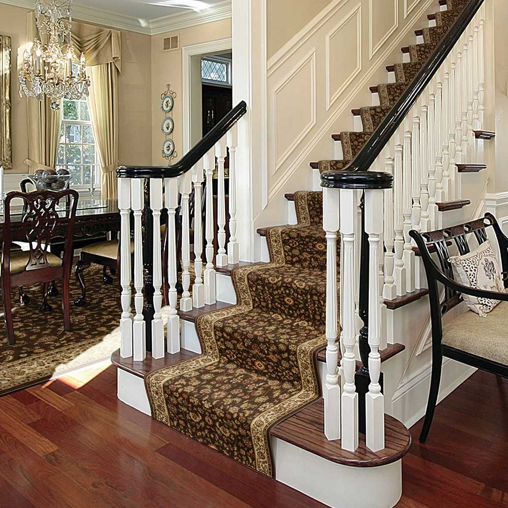 How To Install A Stair Runner The Home Depot | Staircase Replacement Near Me | Deck | Handrail | Carpeted Stairs | Riser | Stair Runner