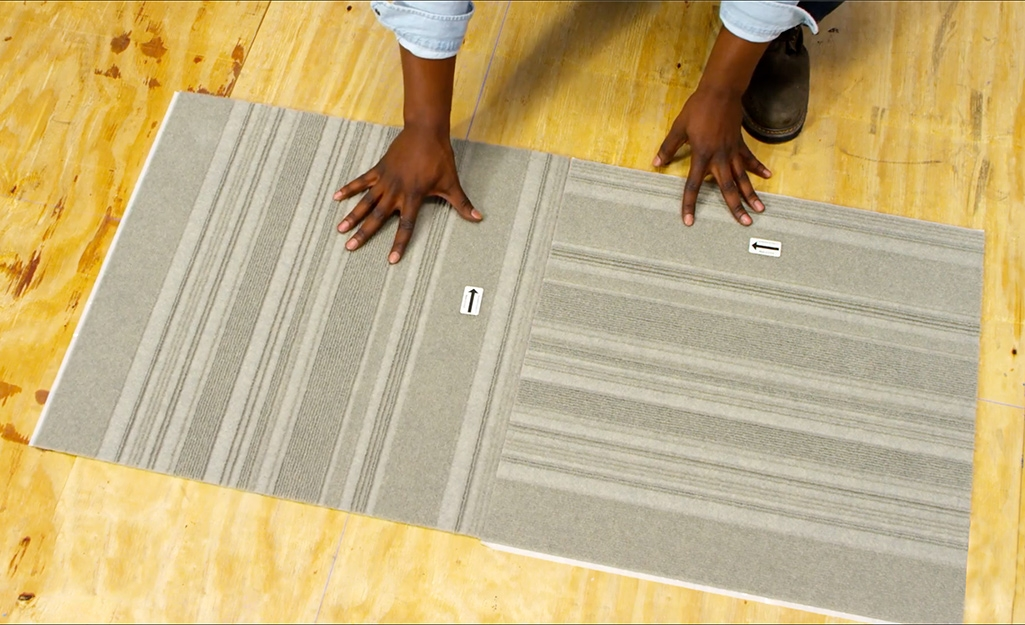 How To Install Carpet Tiles The Home Depot | Carpet Squares For Steps | Kajaria Staircase | Stair Runner | Dean Wrap Around Treads | Communal Stairway | Flower Design