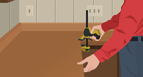 How To Install A Laminate Countertop