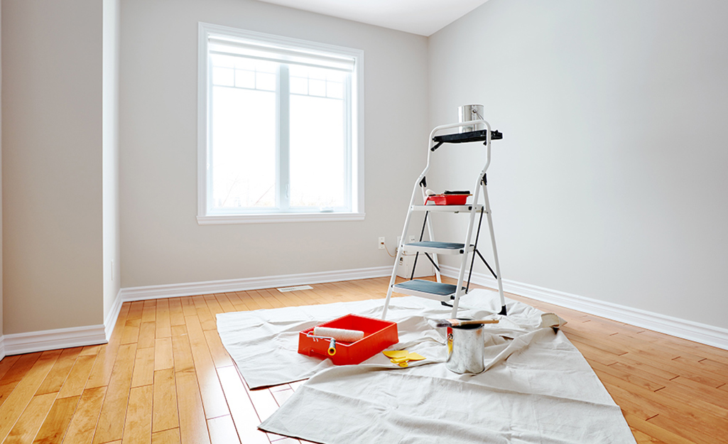 How To Paint A Ceiling The Home Depot